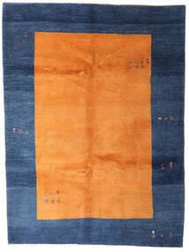 Gabbeh Rustic Covor 204X277 Modern Lucrat Manual Portocaliu/Albastru/Albastru Închis (Lână, Persia/Iran)
