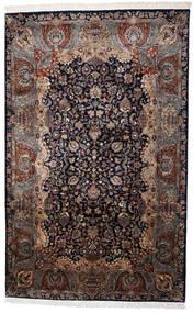 Kashmar Indo Matto 198X310 Itämainen Käsinsolmittu Tummanruskea/Ruskea (Villa, Intia)