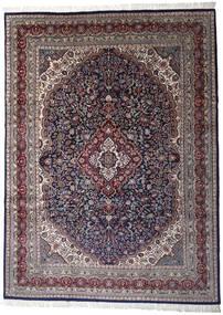 Keshan Indo Χαλι 252X344 Ανατολής Χειροποιητο Σκούρο Μωβ/Ανοιχτό Γκρι Μεγαλα (Μαλλί, Ινδικά)