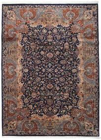 Kashmar Indisk Tæppe 254X342 Ægte Orientalsk Håndknyttet Sort/Mørkebrun Stort (Uld, Indien)