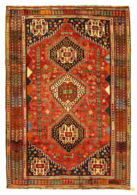 Qashqai Rug 182X270 Authentic  Oriental Handknotted (Wool, Persia/Iran)