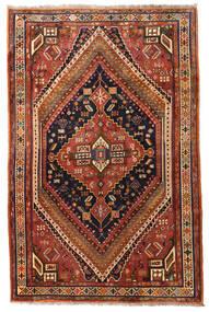 Kaszkaj Dywan 175X270 Orientalny Tkany Ręcznie Ciemnobrązowy/Ciemnoczerwony (Wełna, Persja/Iran)
