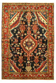 Hamadan Rug 138X203 Authentic  Oriental Handknotted (Wool, Persia/Iran)