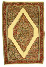 Kilim Senneh Rug 198X292 Authentic  Oriental Handwoven (Wool, Persia/Iran)