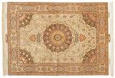 Tabriz 60 Raj silk warp carpet VAC133