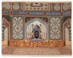 Tabriz 70 Raj silk warp carpet VAC124