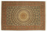 Tabriz 70 Raj silk warp carpet VAC102