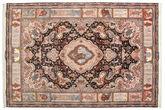 Tabriz 70 Raj silk warp carpet VAH27