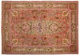 Tabriz 60 Raj silk warp signed: Nezam carpet VAC150