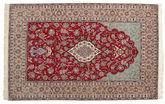 Isfahan silk warp carpet HE10