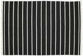 Dhurrie Stripe - Black / White carpet CVD5210