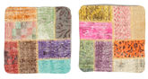 Tappeto Patchwork Fodera per cuscino XCGE1186