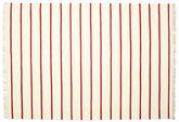 Dorri Stripe - Weiß / Rot 220x320