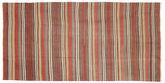 Kilim semi antique Turkish carpet XCGH1452