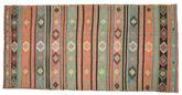 Tapis Kilim semi-antique Turquie XCGH1447