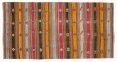 Kilim semi antique Turkish carpet XCGH1387