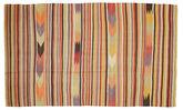 Kilim semi antique Turkish carpet XCGH1371