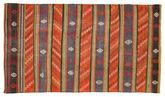 Kilim semi antique Turkish carpet XCGH1365