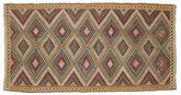Tapis Kilim semi-antique Turquie XCGH1324