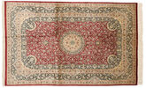 Qum silk signed: Razavi carpet BTC35