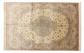 Qum silk signed: Qum Mosavi carpet BTC22