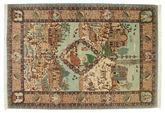 Tabriz 60 Raj silk warp carpet VEXN53