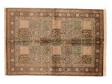 Qum silk signed: Qum Babai carpet RZZZB2