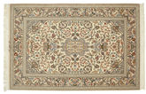 Isfahan silk warp signed: Khairi carpet VEXN8