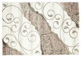Tapis Taika - Blanc / Rose RVD9506