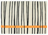 Gummi Twist Handtufted - Orange matta CVD6679
