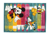 Tappeto Disney Colour Fun con Mickey CVD11296