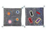 Kissenhülle Vintage Relief Teppich MPB257