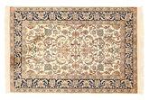 Kashmir pure silk carpet XVZC103