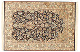 Kashmir pure silk carpet XVZC71