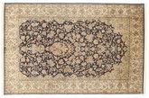 Kashmir pure silk carpet XVZC333