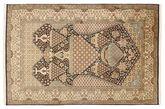 Kashmir pure silk carpet XVZC348