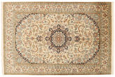 Kashmir pure silk carpet XVZC346