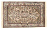 Kashmir pure silk carpet XVZC183