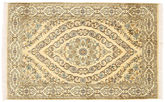Kashmir pure silk carpet XVZC167