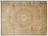 Kashmir pure silk carpet XVZC534