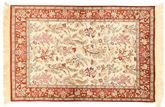 Qum silk signed: Motvasel carpet XVZH56