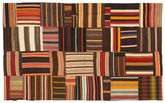 Kilim Patchwork carpet XCGZB334
