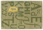 Letters Handtufted rug CVD6695
