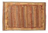 Kilim Afghan Old style carpet NAU959