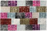 Patchwork Aqua tapijt CVD13546