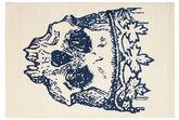 Hamlet Flat Weave - Sininen-matto CVD13196