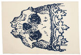 Tapis Hamlet Flat Weave - Bleu CVD13195