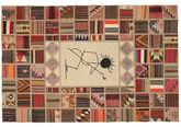 Kilim Patchwork szőnyeg XVZQ14