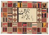 Kilim Patchwork carpet XVZQ66