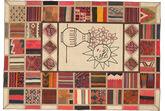 Kilim Patchwork carpet XVZQ75